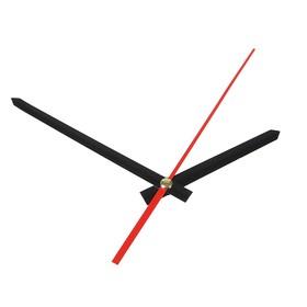 Комплект из 3-х стрелок для часов черные 75/110 (1085) (фасовка 100 наборов)