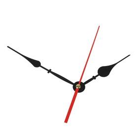 Комплект из 3-х стрелок для часов черные 92/126 (1086) (фасовка 100 наборов)