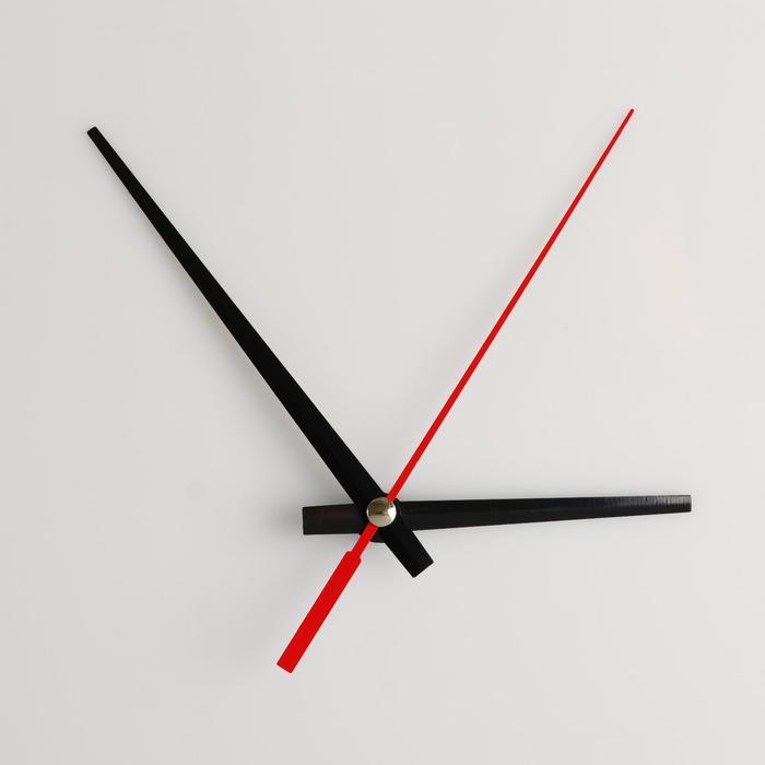 Комплект из 3-х стрелок для часов черные 6395 1092 фасовка 100 наборов