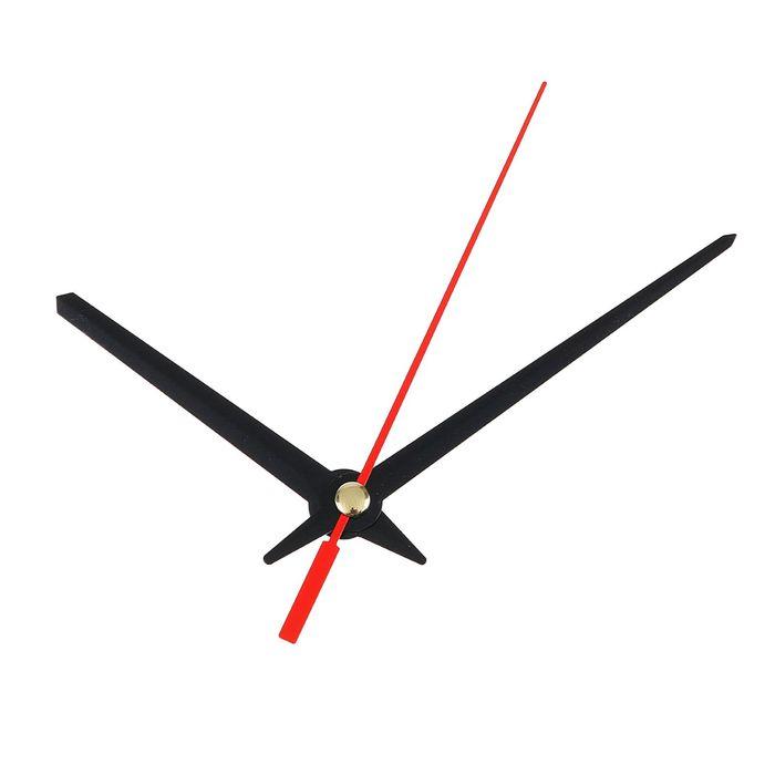 Комплект из 3-х стрелок для часов черные 6080 1098 фасовка 100 наборов