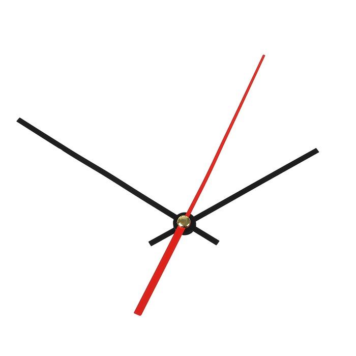 Комплект из 3-х стрелок для часов черные 83114 2021 фасовка 100 наборов