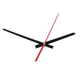 Комплект из 3-х стрелок для часов черные 93/127 (2052) (фасовка 100 наборов) Ош