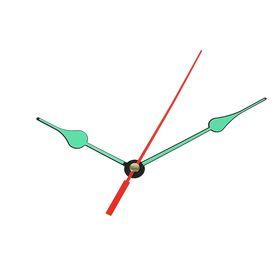 Комплект стрелок для часов, черные, светятся в темноте (2054Y)