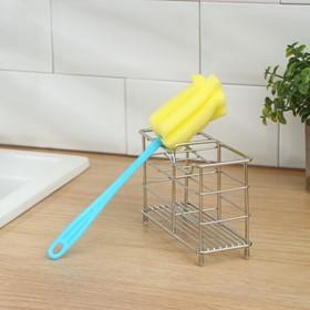 Ёршик для посуды «Тюльпан», 5×21 см, цвет МИКС Ош