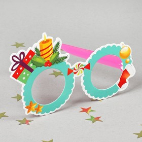 Карнавальные очки «Подарки» Ош
