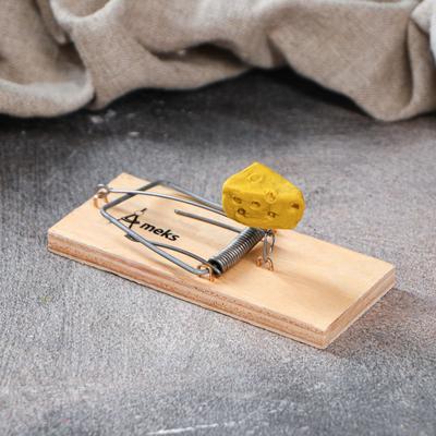 """Мышеловка деревянная """"Ретро"""", 10 х 4,5 см - Фото 1"""