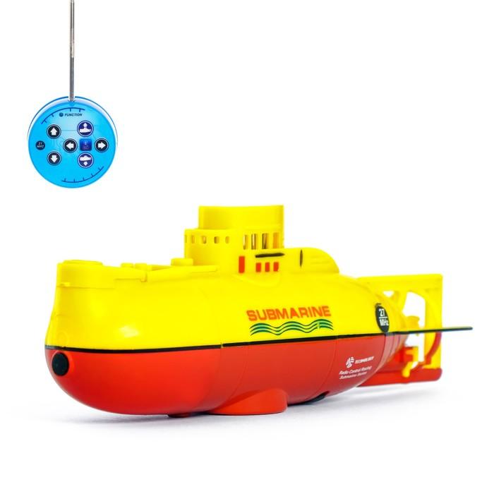 Подводная лодка радиоуправляемая Гроза морей, световые эффекты, МИКС