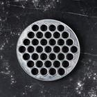 Пельменница алюминиевая, d-25 см, d ячейки-2,5 см - Фото 2