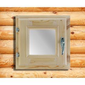 Окно, 30×30см, двойное стекло, из хвои Ош