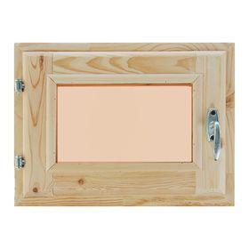 Окно, 30×40см, двойное стекло, тонированное, из хвои Ош