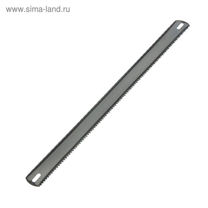 Полотна для ножовки по металлу TUNDRA, 24/8 TPI, широкое, двух/стор, зак/зуб, 300 мм, 72 шт