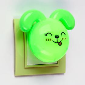 Ночник LED 'Кролик',7 см, 4W (V220) МИКС пластик Ош