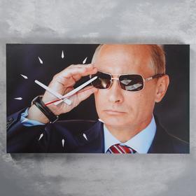 Часы настенные, серия: Люди, 'Путин', 37х61 см Ош
