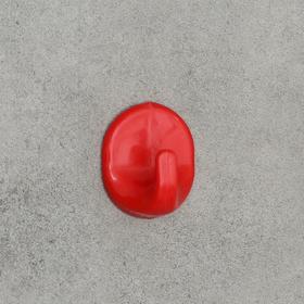 Крючок самоклеящийся «Овал», цвет МИКС