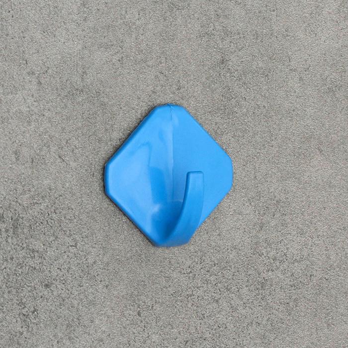 Крючок самоклеящийся Ромб, цвет МИКС