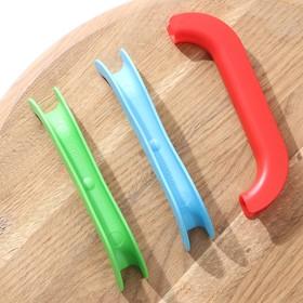 Набор ручек-держателей для пакетов 3 шт, цвет МИКС