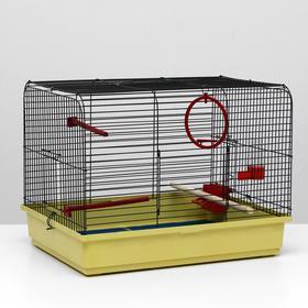 Клетка для птиц 'Грация', 49 х 36 х 37 см, микс цветов Ош