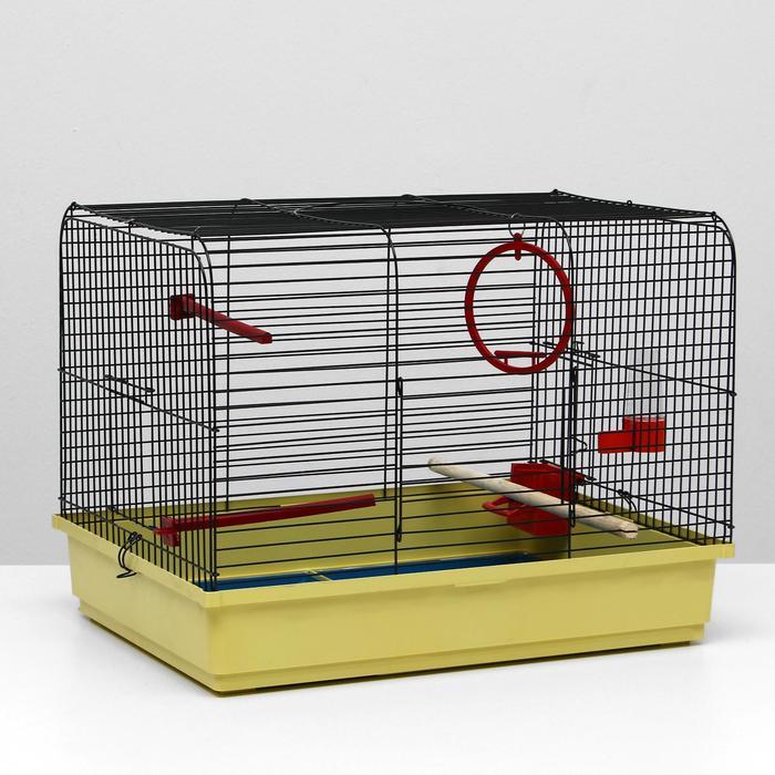 Клетка для птиц Грация, 49 х 36 х 37 см, микс цветов