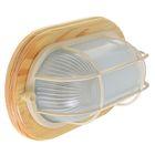 Светильник для бани/сауны ITALMAC Termo 60 21 18, 60 Вт, IP54, цвет береза, до +130°C