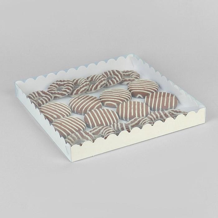 Коробочка для печенья 25 х 25 х 3 см