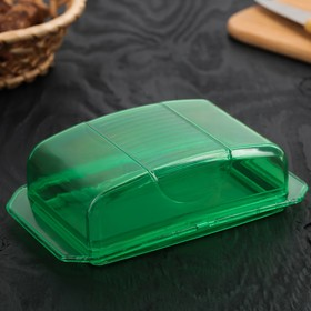 Маслёнка Комфорт Плюс, 17×11×5 см, цвет МИКС