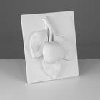Гипсовая фигура. Орнамент «Ветка яблони», 33 х 26 х 10 см