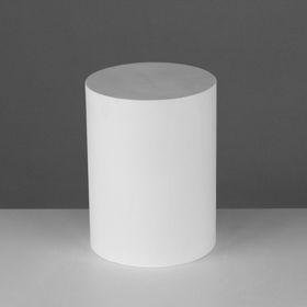 Геометрическая фигура, цилиндр «Мастерская Экорше», 20 см (гипсовая)