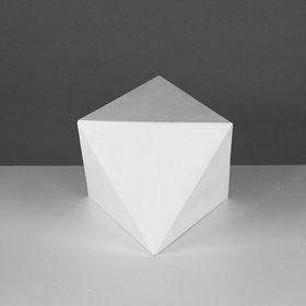 Геометрическая фигура, октаэдр «Мастерская Экорше», 15 х 18 см (гипсовая) Ош
