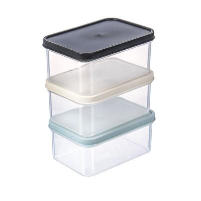 Набор контейнеров для СВЧ-печи, 320 мл, 3 шт - Фото 1