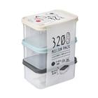 Набор контейнеров для СВЧ-печи, 320 мл, 3 шт - Фото 4