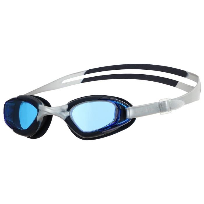 Очки для плавания юниорские Junior Micra Multi II, M0419 01 0 01W, цвет чёрный