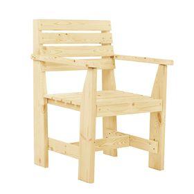 Кресло к набору 'Дачный' классический, натуральная сосна Ош