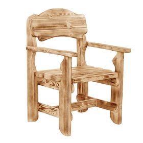 Кресло к набору Разбойник фигурный(обожжённый , лакированный) Ош