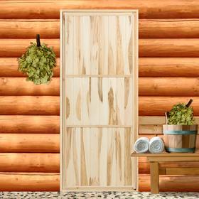Дверь для бани 'Эконом', 180×80см Ош