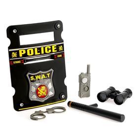 Набор полицейского «Спецназовец», 5 предметов Ош
