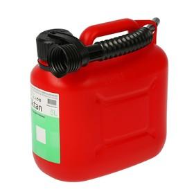 Канистра ГСМ Oktan CLASSIK, 5 л, пластиковая, красная