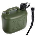 Канистра ГСМ Oktan PROFI, 5 л, пластиковая, усиленная, зеленая