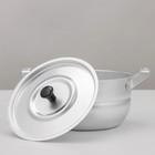 Кастрюля, 1,7 л, d=18 см, металлическая крышка, цвет хромированный - Фото 3