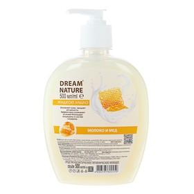 """Жидкое мыло Dream Nature """"Молоко и мед"""" 500 мл"""