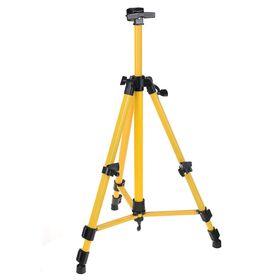 Мольберт телескопический, тренога, металлический, жёлтый, размер 51-153 см Ош