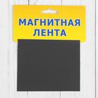 Магнитный лист, 100 × 80 × 1 мм, 1 шт.
