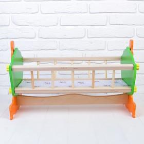 Кровать - качалка на подставке, 50 см, МИКС