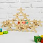 Развивающая игрушка Балансир «Физкультурники», 21 элемент, размер человечка: 7,5 × 7.5 см