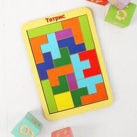 Рамка-вкладыш «Тетрис», 19 элементов, МИКС