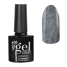 Гель-лак для ногтей, с эффектом кашемира, трёхфазный LED/UV, 10мл, цвет 03-15 чёрный