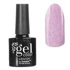 Гель-лак для ногтей, с эффектом кашемира, трёхфазный LED/UV, 10мл, цвет 05-19 сиреневый