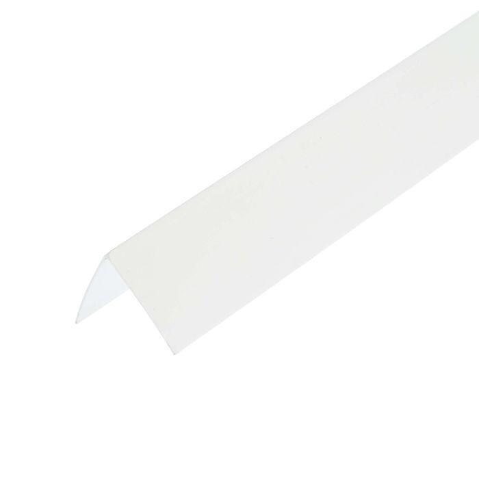 Уголок ПВХ белый 25х25х2700 мм