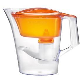 """Фильтр-кувшин 4 л """"Барьер-Твист"""", цвет оранжевый"""