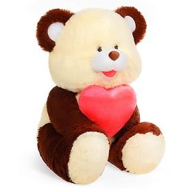 Мягкая игрушка «Медведь с сердцем», МИКС