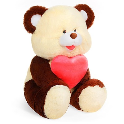 Мягкая игрушка «Медведь с сердцем», МИКС - Фото 1